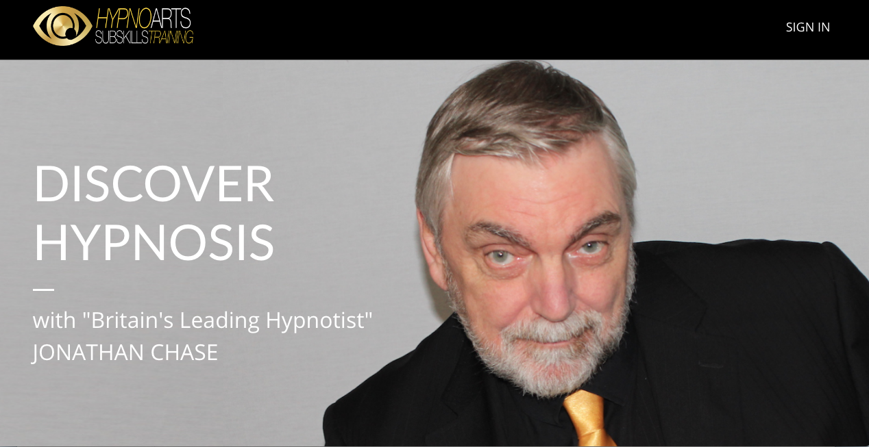 discover hypnosis with Hypnotist Jonathan Chase
